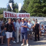 Greva, Strajk, Hotel Otrant