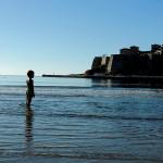 Plazhi i vogel, Kalaja, Deti, Kupanje