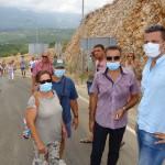 Deponija Mozura, Protest,