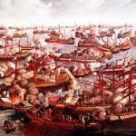 Beteja e Lepantos, Bitka na Lepantu