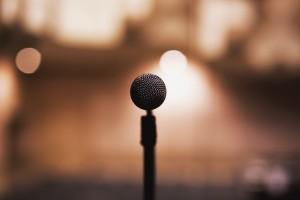 Konferencija, Mikrofon