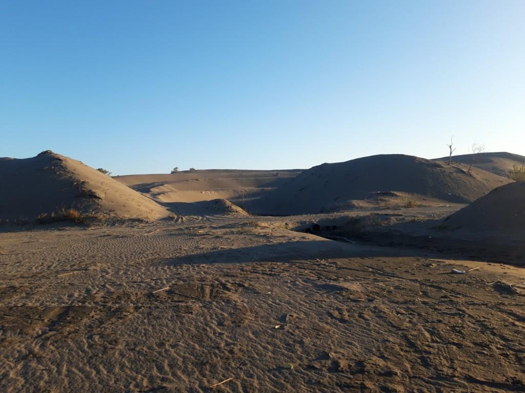 Brda pjeska iz Bojane